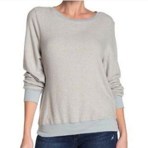 Wildfox Baggy Beach Sweater Size Large Gray